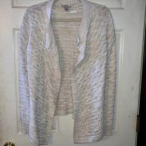 Loft beige knit sweater